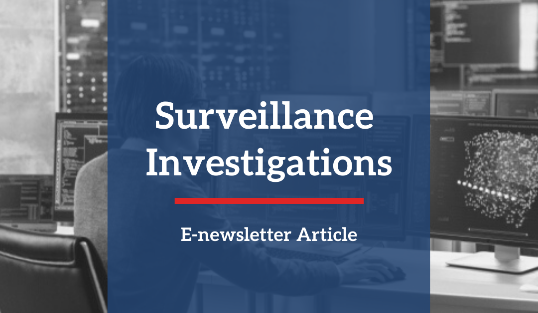 Insurance Defense Surveillance Investigation
